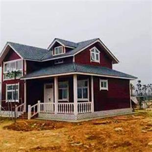 防腐木别墅建筑模板