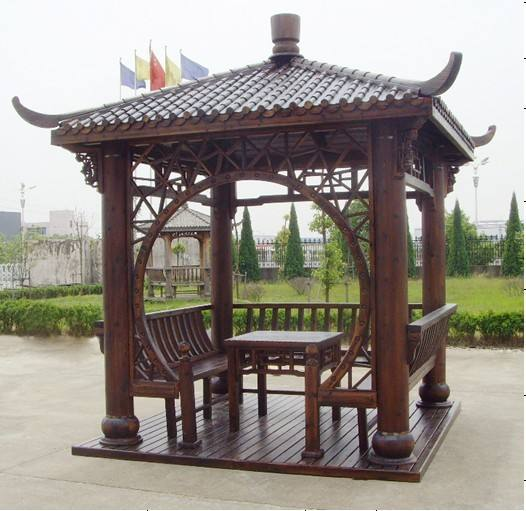 河南防腐木凉亭