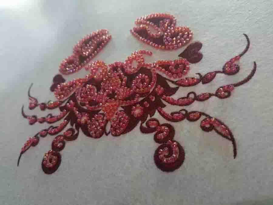 螃蟹珠子绣