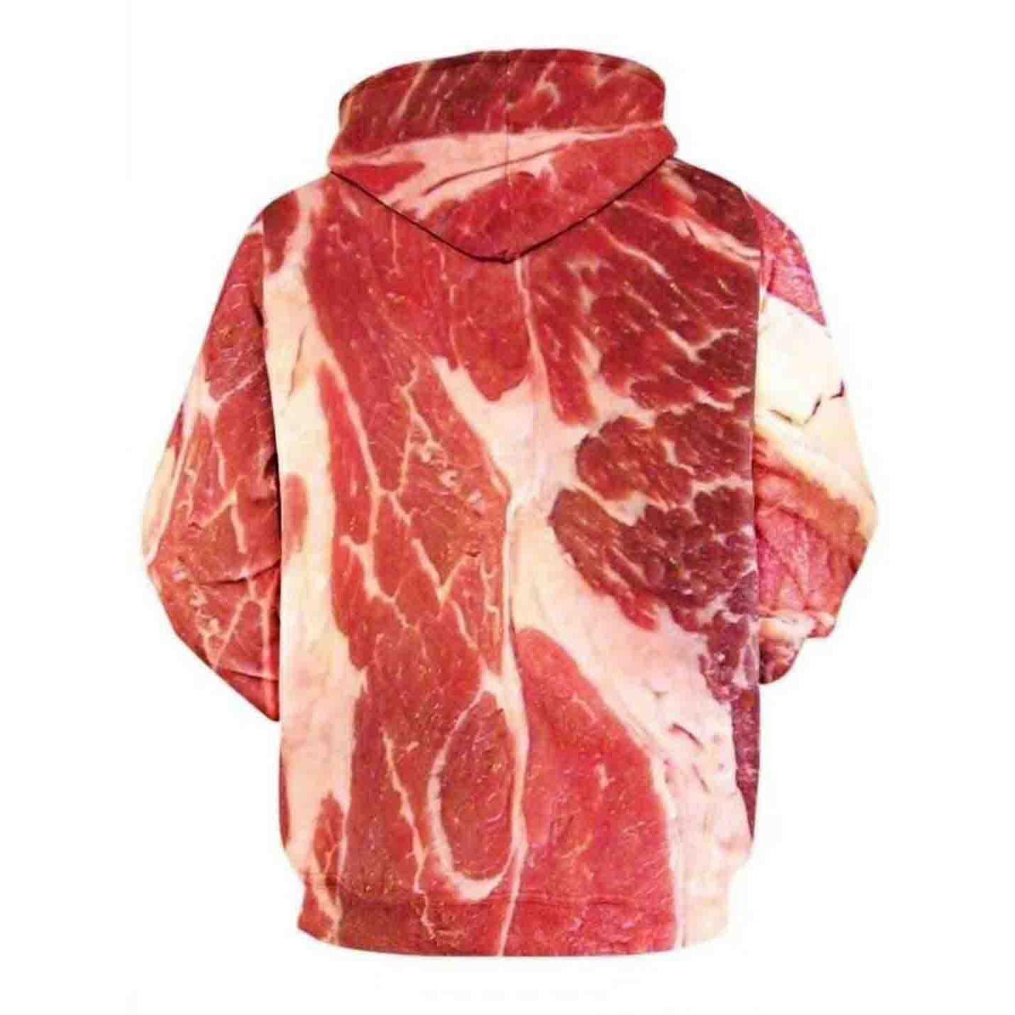 """网红""""猪肉""""特色卫衣"""