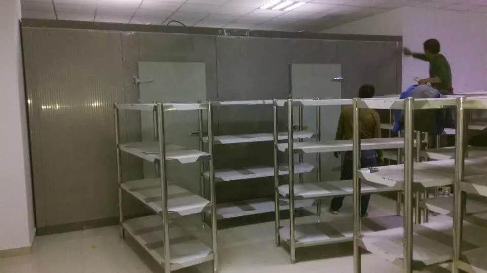 易得与内蒙古法官学院不锈钢冷藏合作案例