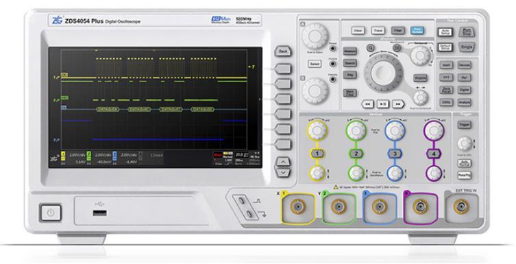 致远示波器 ZDS4000系列