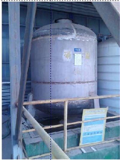 外侧液位计在某核材料厂镐坯料车间2个硝酸罐上的使用