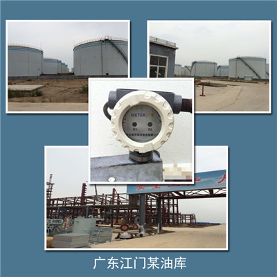 中海油江门油库超声波液位开关