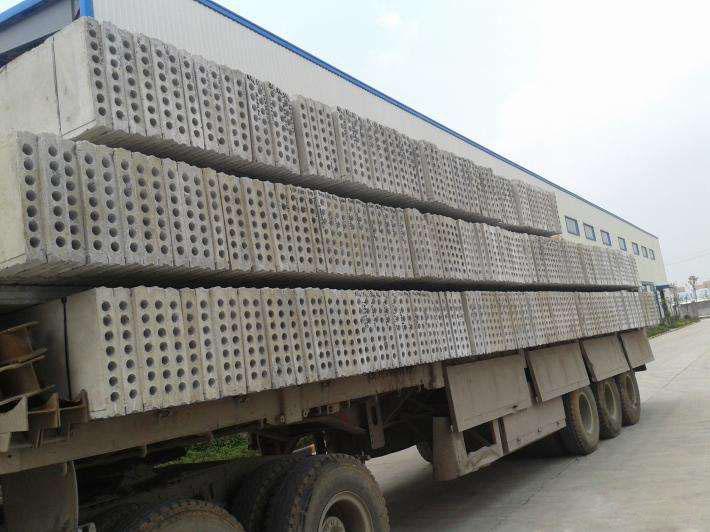 西安水泥陶粒板送貨現場圖