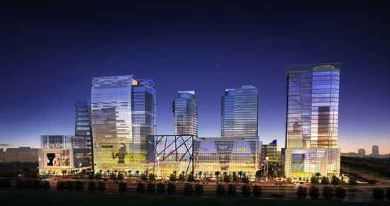 集宁科瑞节能与万和中央广场合作