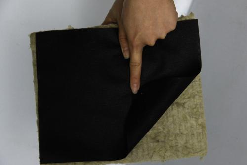 大家见过黑色的岩棉板吗?