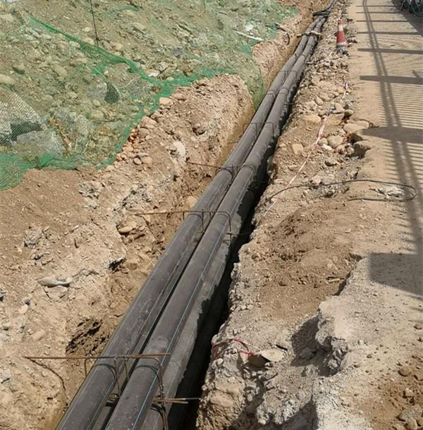 HDPE电力管工程案例