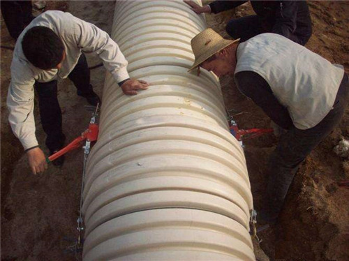 PVC-U双壁波纹管工程案例