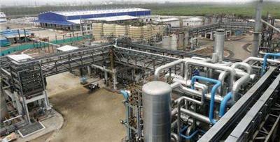 化肥化工厂安装管道大小头案例