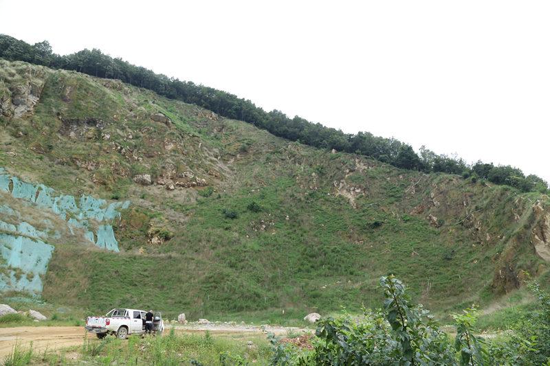 陜西礦山植被恢復工程