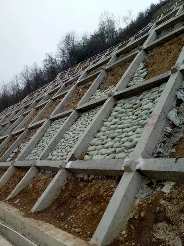 陜西高邊坡防護治理施工