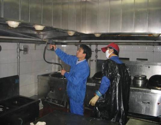 陕西油烟管道清洗公司