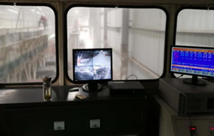 西安水稳碎石厂区基材操作室风采展示