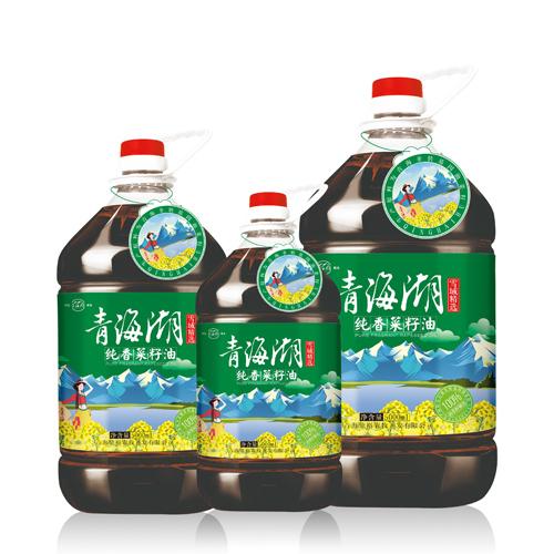 青海湖菜籽油厂家