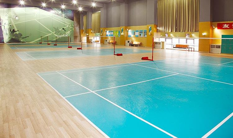 南城健身中心PVC地板