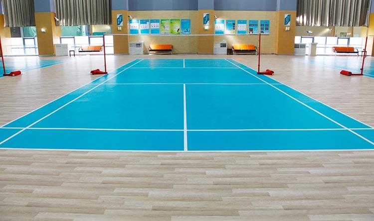南城健身中心PVC塑胶地板
