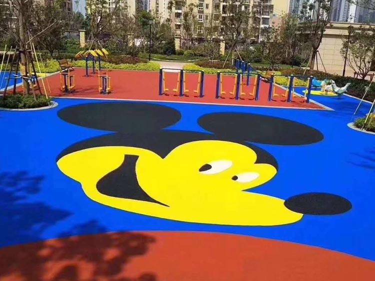 幼儿园塑胶地板图