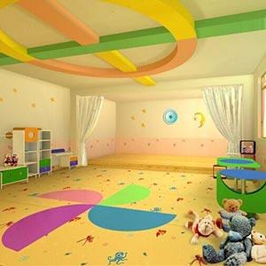 亿佳公司服务给力 场地:幼儿园