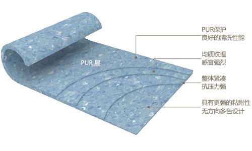 医院PVC地板结构