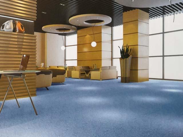 国产PVC塑胶地板