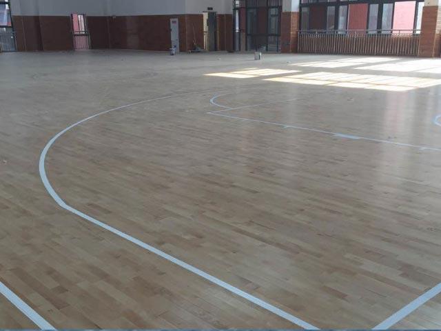 篮球场运动地板