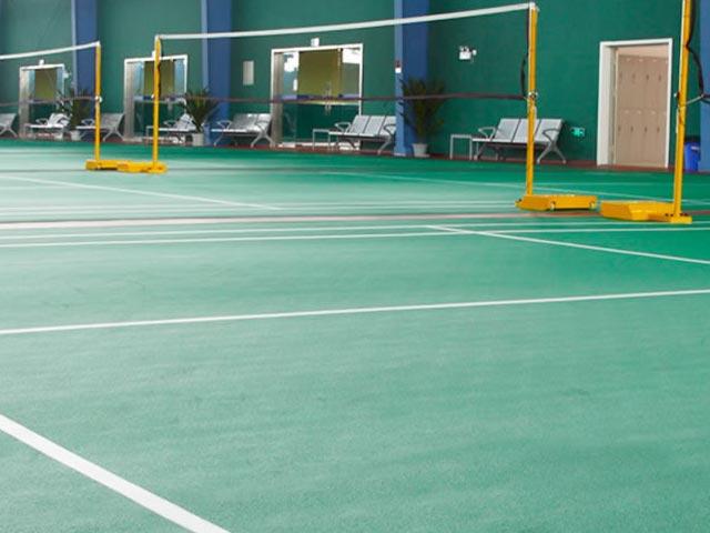 羽毛球场运动地板