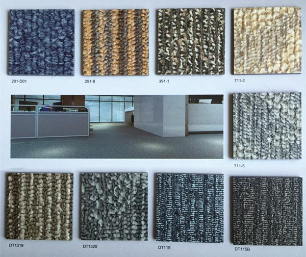 地毯纹系列PVC塑胶地板