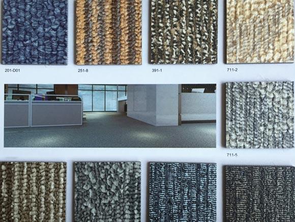 地毯紋系列PVC塑膠地板