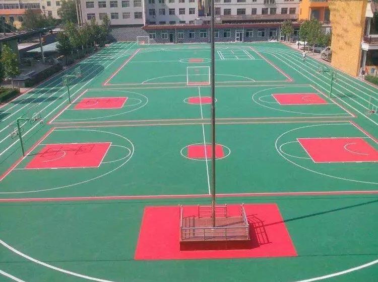 悬浮地板球场跑道