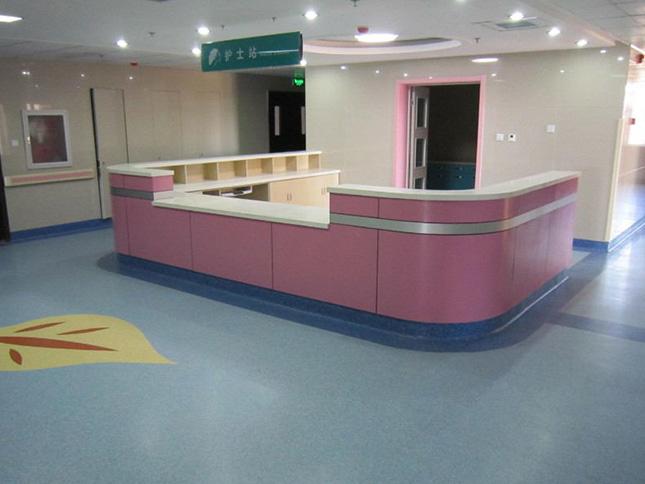 远大医院1000平地板工程案例