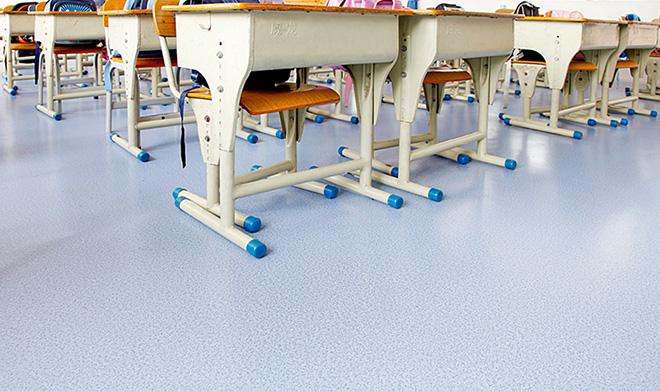 小學塑膠地板工程案例