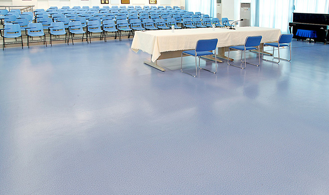 學校塑膠地板工程案例