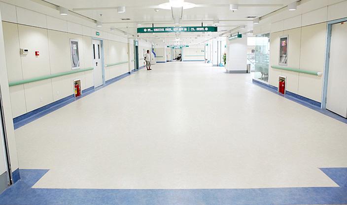 医疗塑胶地板工程案例