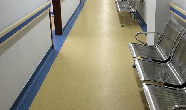 医院pvc塑胶地板工程