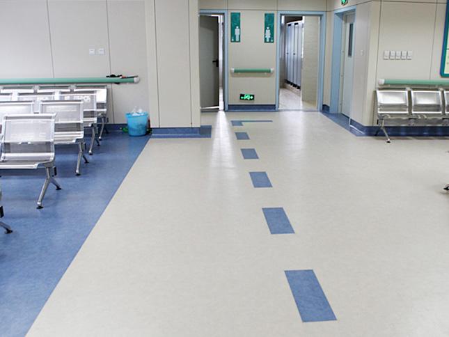 中医复院3000平塑胶地板工程案例