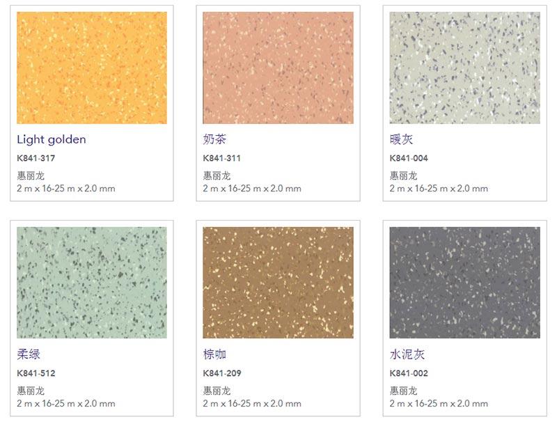 惠丽龙pvc塑胶地板