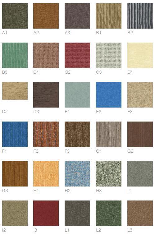 PVC地板颜色