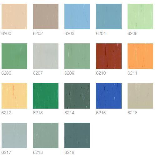 康派 200 COMPACTO 200 地板卷材顏色