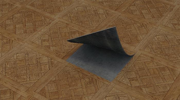 55702石纹pvc石塑地板