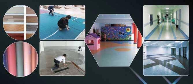 济南塑胶地板施工