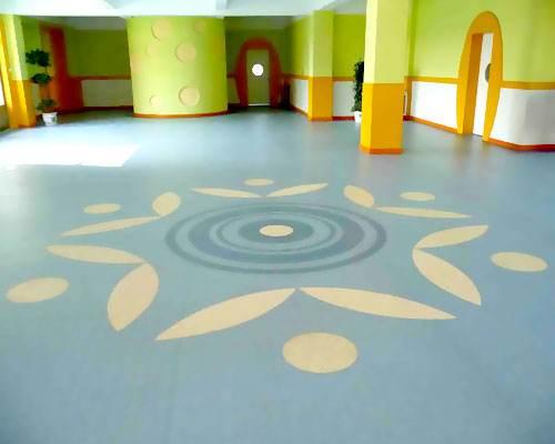 山东幼儿园塑胶地板好吗?以及保养注意事项