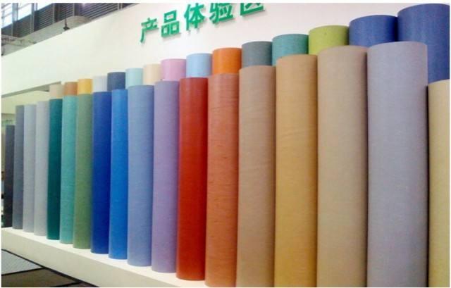 PVC塑膠地板產品