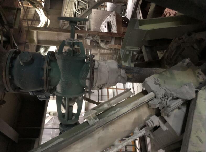 KR铁水脱硫站 脱硫升降溜槽设备
