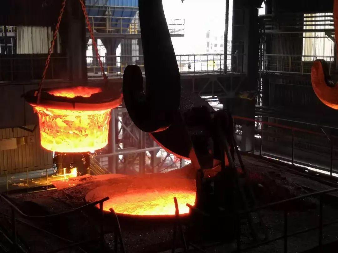 四川转炉混铁炉生产