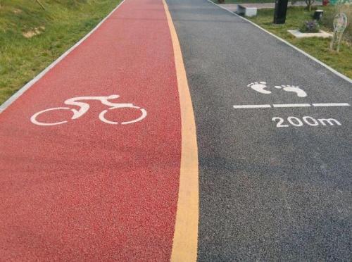 四川彩色沥青道路施工