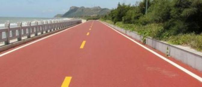 四川路面改色用什么材料比较好?
