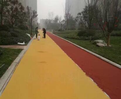 2020年的四川彩色沥青路面如何防护