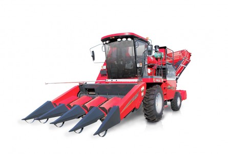 Animal husbandry 4YZB-4 self-propelled (both ear and stem) corn combine harvester