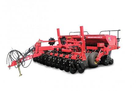 牧神2BMF20分体式免耕施肥播种机面耕播